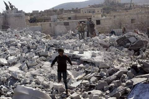 Αεροπορικές επιδρομές κατά θέσεων του Ισλαμικού Κράτους
