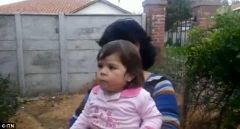 Παιδί κόλλησε την κατσαρόλα στο κεφάλι του (πολύ σκληρό βίντεο)