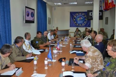Στο Ευρωπαϊκό Στρατηγείο Λάρισας πρέσβεις και ΑΚΑΜ της Ε.Ε.