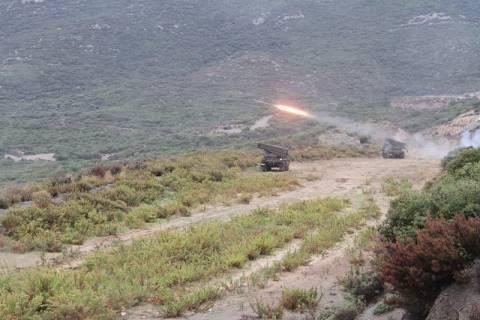 Χανιά: Στρατιωτικές βολές στο Μάλεμε