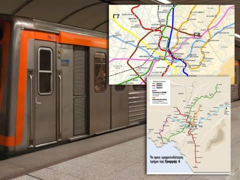 Αντίστροφη μέτρηση για τον νέο χάρτη του Μετρό