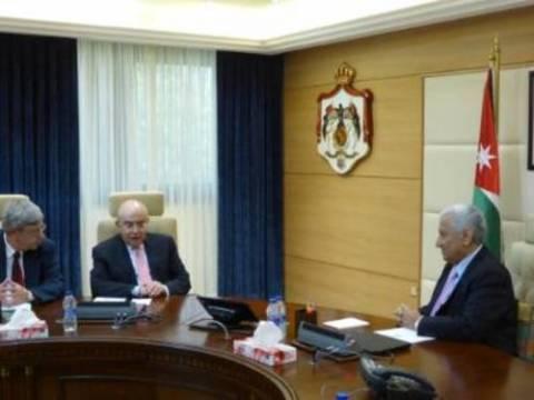 Συνάντηση Ομήρου με τον Ιορδανό Πρωθυπουργό