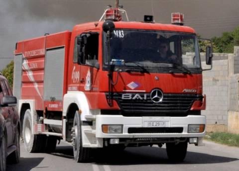Ρόδος: Φωτιά σε σούπερ μάρκετ στην Αφάντου