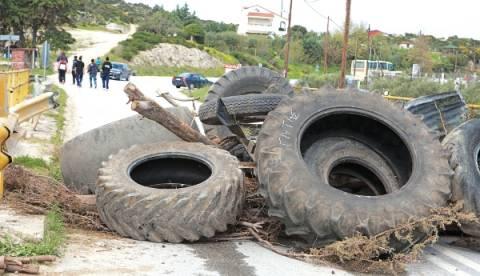 Οκτώ κάτοικοι της Χαλκιδικής στην Ασφάλεια ως ύποπτοι για τα «μπλόκα» στην Ιερισσό
