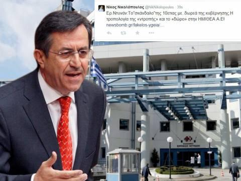 Ν. Νικολόπουλος: Αυτοί ξεπέρασαν και τον Γιέλτσιν!