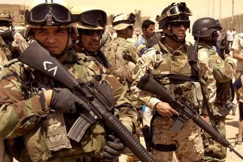 Ο στρατός του Ιράκ «ανακτά» τον έλεγχο σε μια περιοχή της επαρχίας Άνμπαρ