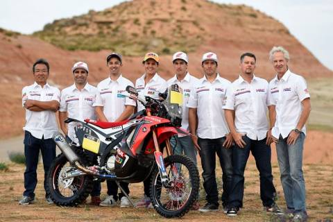 Dakar 2015: Η Honda ανακοίνωσε την ομάδα της