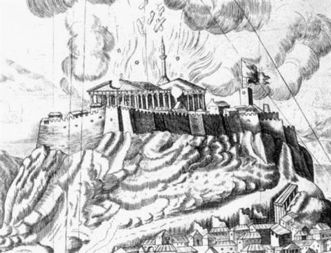 Σαν σήμερα το 1687: Μερική καταστροφή του Παρθενώνα