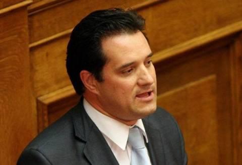 Προκαλεί ο Άδωνις: Οι Έλληνες θα αυτοκτονήσουν αν ψηφίσουν ΣΥΡΙΖΑ