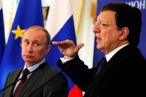 Πούτιν: Ζήτησε από τον Μπαρόζο αναθεώρηση της συμφωνίας σύνδεσης ΕΕ-Ουκρανίας