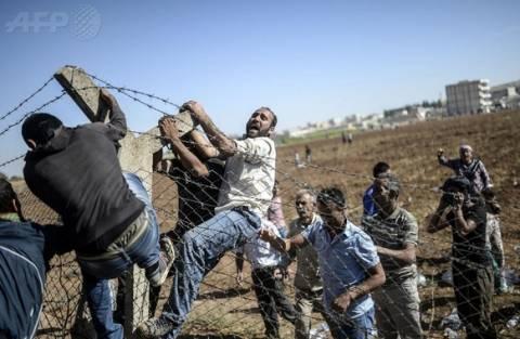 Τουρκία: Κούρδοι πέρασαν τα σύνορα διά της βίας για να πολεμήσουν τους τζιχαντιστές