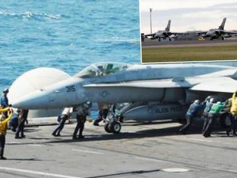 Συνεχίζονται οι αεροπορικές επιδρομές κατά των τζιχαντιστών (pics+video)