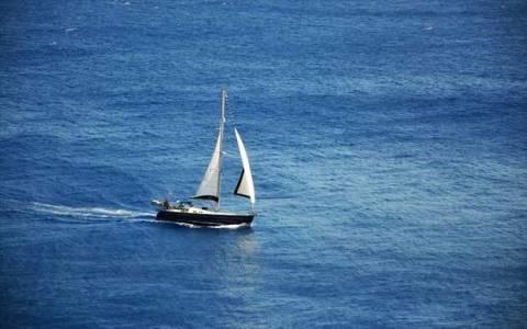 Εύβοια: Ακυβέρνητο έμεινε ιστιοφόρο σκάφος στους Ωρεούς