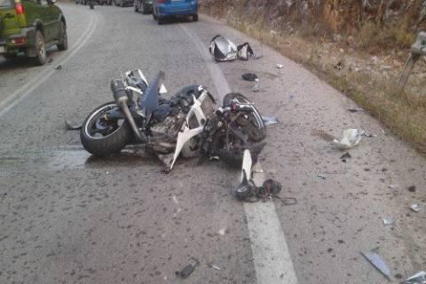 Κρήτη: Τραγωδία στην άσφαλτο - Σκοτώθηκε μοτοσυκλετιστής