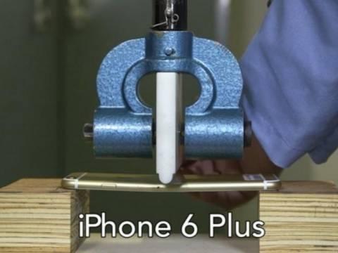 Βίντεο τεστ: Πώς λυγίζουν ένα iPhone Plus και ένα Samsung Galaxy Note 3