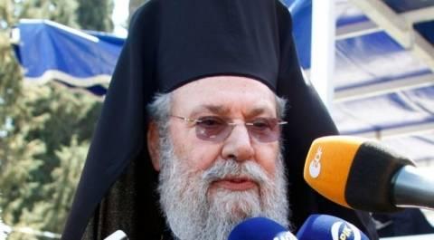 Αρχιεπίσκοπος Κύπρου: Στο εξωτερικό για εγχείρηση στο σπόνδυλο