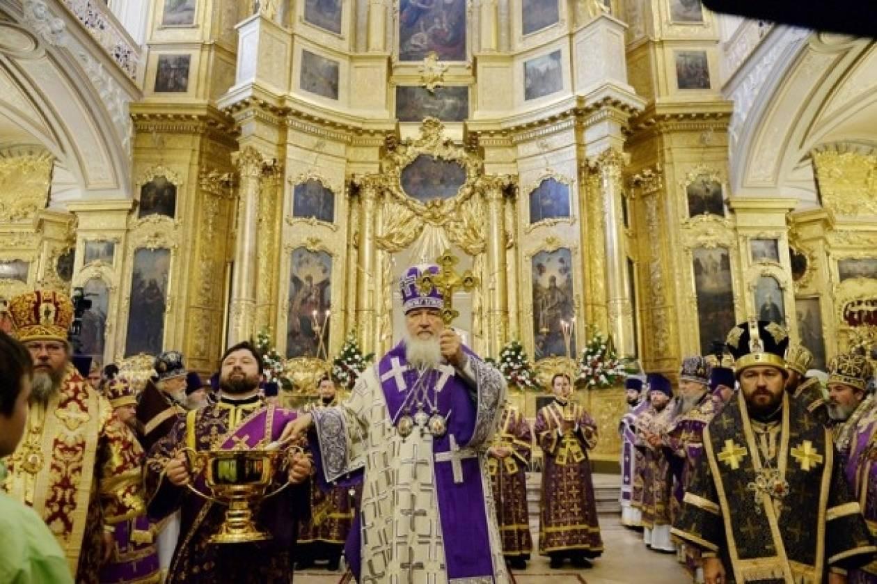Μόσχα: Λαμπρός εορτασμός της Υψώσεως