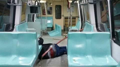 Τουρκία: Σιδερένια βέργα καρφώθηκε σε επιβάτη του μετρό (vid+pics)