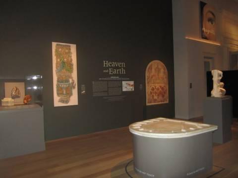 Εγκαίνια της έκθεσης «Ουρανός και Γη. Η τέχνη του Βυζαντίου από Ελληνικές Συλλογές»