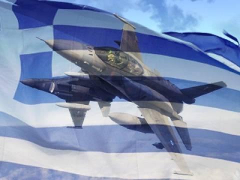 Η φωτογραφία που συγκινεί: Το «Ευχαριστώ» του πιλότου στο ελληνικό μαχητικό
