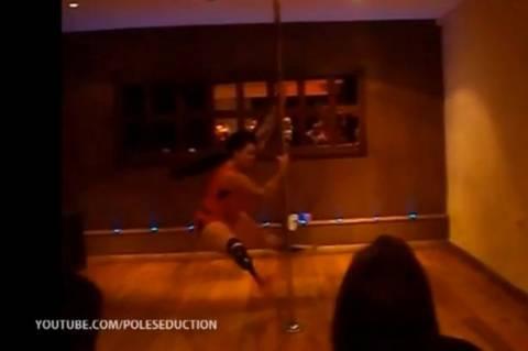 Δεν έχει πόδι αλλά είναι χορεύτρια (pics+video)