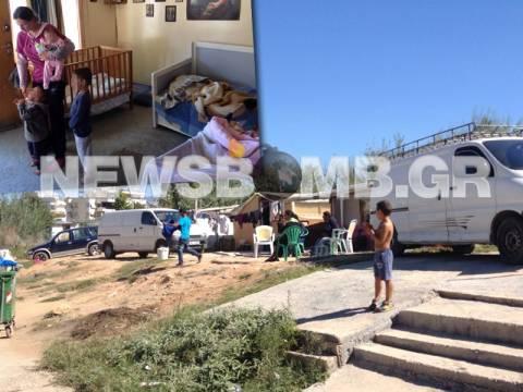 To Νewsbomb στον καταυλισμό των Ρομά (pics&vid)