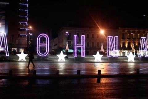 Πάει προς Χριστούγεννα η Λευκή Νύχτα στην Αθήνα