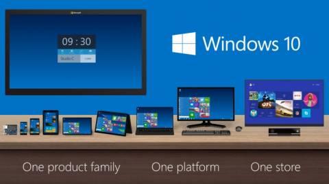 Η Microsoft παρουσίασε τα Windows 10