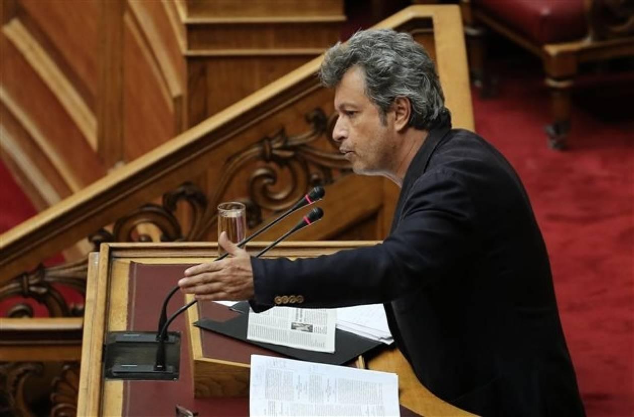 Τατσόπουλος: Δεν θα δώσω ψήφο εμπιστοσύνης στην κυβέρνηση
