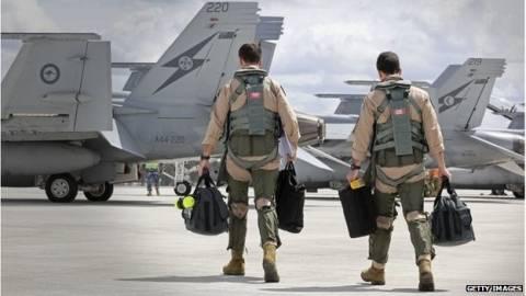 Η Αυστραλία θα συμμετέχει στις αεροπορικές επιχειρήσεις κατά του Ισλαμικού Κράτους