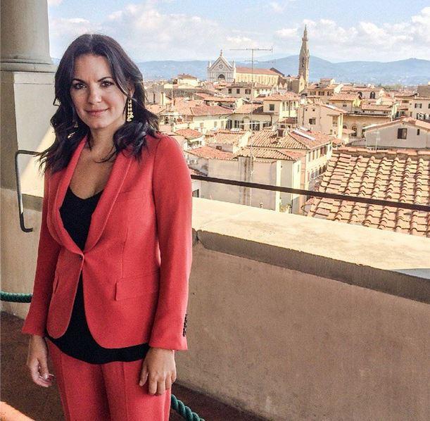 Η φωτογραφία της Όλγας Κεφαλογιάννη από τη Φλωρεντία (pic)