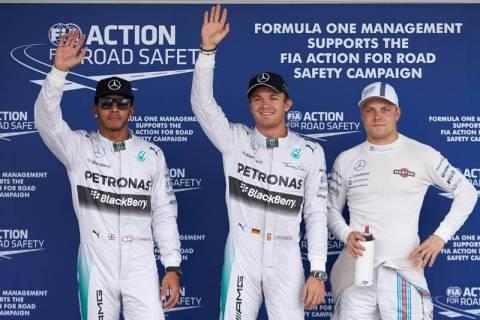 F1 Grand Prix Ιαπωνίας: Ο N.Rosberg σάρωσε τις κατατακτήριες δοκιμές