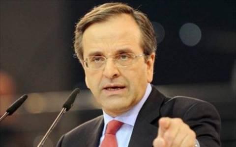 Α. Σαμαράς: Δεν παίζουμε παιχνίδια με τη σταθερότητα της χώρας