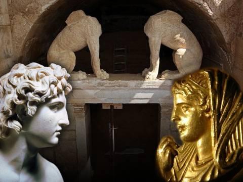 Αμφίπολη: Η πρόσοψη του τύμβου δείχνει Αλέξανδρο ή Ολυμπιάδα