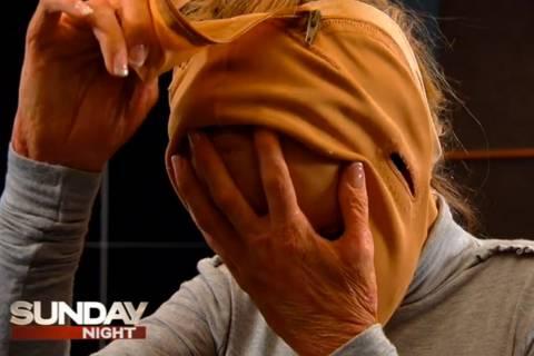 Η γυναίκα με τη μάσκα αποκάλυψε το πρόσωπό της (pics+video)