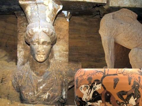 Αμφίπολη: Δεν είναι Καρυάτιδες, αλλά Μαινάδες του Διονύσου