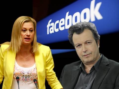 Άγρια κόντρα Τατσόπουλου – Μακρή στο Facebook