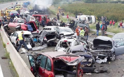 Καραμπόλα στην Εγνατία: Συγκλονιστική μαρτυρία οδηγού
