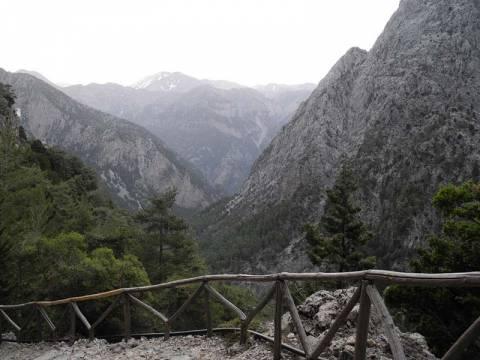 Κρήτη: Στα ίδια επίπεδα με πέρυσι η κίνηση στο Φαράγγι της Σαμαριάς