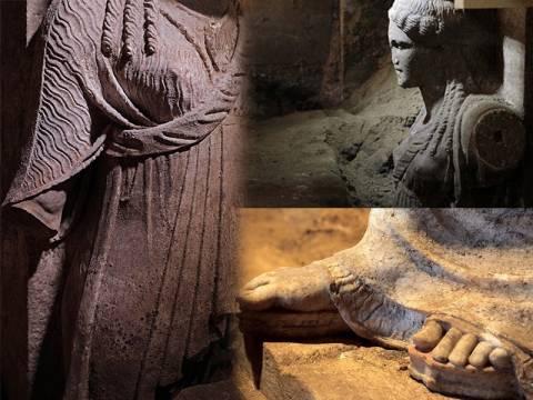 Οι Καρυάτιδες μαρτυρούν τον Ηφαιστίωνα