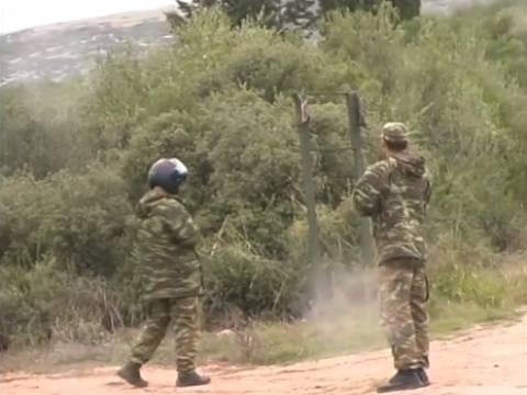 Τραγωδία στο Βόλο: Bίντεο από το πεδίο βολής