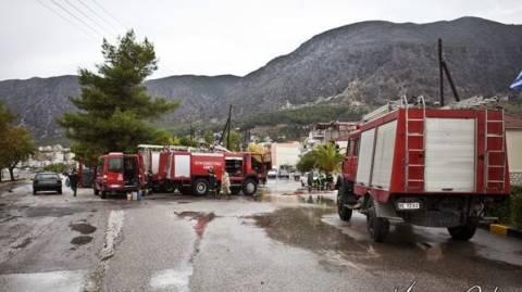 Μεγάλες καταστροφές στον Αστακό από ισχυρή βροχόπτωση (pics)