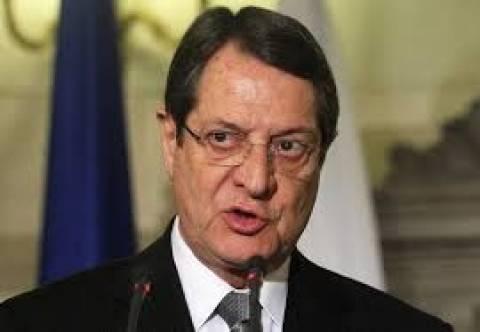 Ο Αναστασιάδης καταγγέλλει τις τούρκικες προκλήσεις στην ΑΟΖ