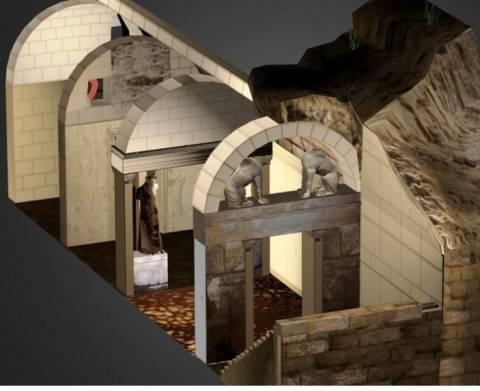 Αμφίπολη: Δείτε την τρισδιάστατη αναπαράσταση του αρχαιολογικού χώρου