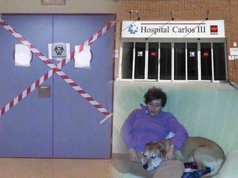 Έμπολα: Κόλλησαν την Ισπανίδα νοσοκόμα με το… ζόρι! (pics)