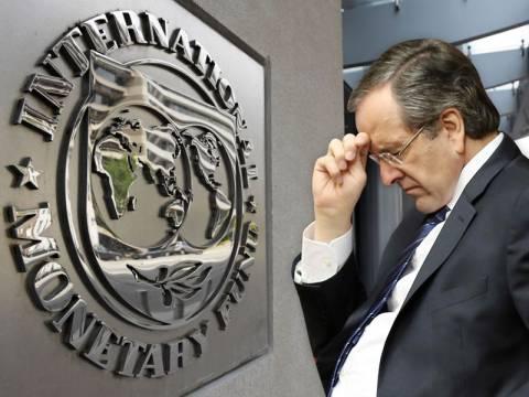 Το ΔΝΤ διαψεύδει τον Σαμαρά