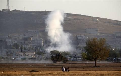 Συνεχίστηκαν οι αεροπορικές επιδρομές του διεθνούς συνασπισμού στο Κομπάνι