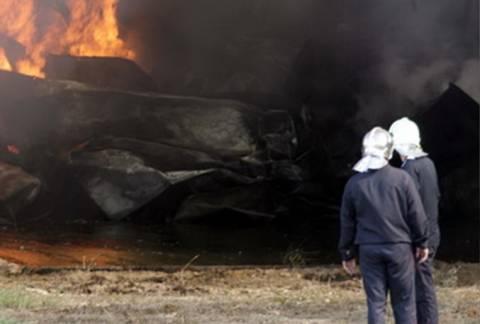 Κρήτη: Φωτιά σε στάβλο έκαψε δεκάδες ζώα