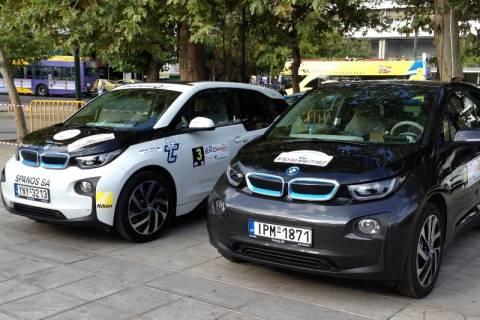 Hi-Tech EKO Mobility Rally 2014: Η BMW i3 στη 2η και 3η θέση