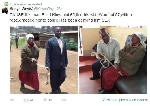 Έδεσε τη γυναίκα του και την πήγε στην αστυνομία γιατί... μίλαγε πολύ! (pic)
